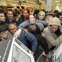 Black Friday Crowd Shopping